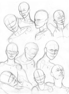 A simple tutorial about nose drawing. The tutorial is intended to give you basic guidelines to achieve the following: draw a proportioned nose construct a refence to be able to draw a nose from man...