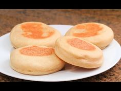 (136) Muffin Inglés | Pan sin Horno esponjoso ideal para desayunar! - YouTube