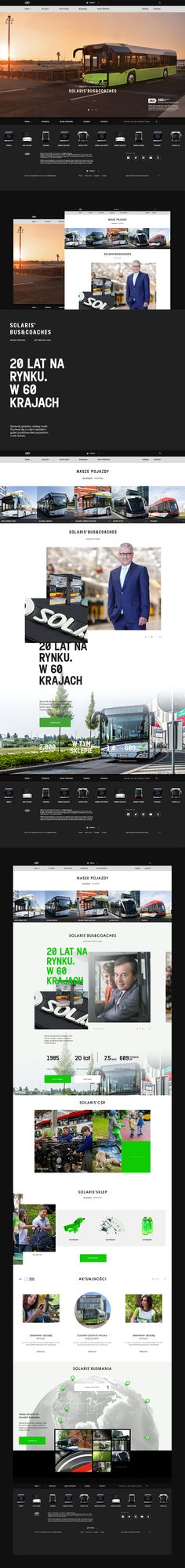 SOLARIS BUS&COACHES. Project proposal for Solaris. Done for Crafton.pl