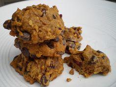#Vegan Pumpkin Chocolate Chip Cookies.