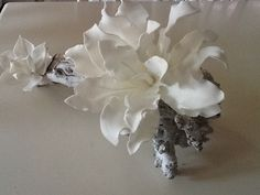 Foam flowers |Pinned from PinTo for iPad|