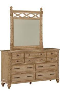 Bedrooms, Pelican Bay Dresser with Mirror, Bedrooms Fire Pit Chat Set, Pelican Bay, Dresser With Mirror, Home Reno, Bedroom Styles, Design Consultant, Vanity, Bedrooms, Furniture