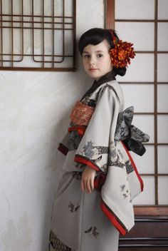 It is a kimono for the celebration of the