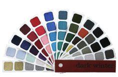 indigo tones personal color plume for dark winter color harmony
