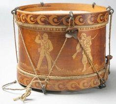Civil War era (Union) toy drum