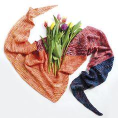 Magic Spring Shawl by Katerina Bobkova