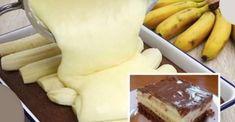 Návšteva bola z nich nadšená: banánové rezy poliate čokoládou s rýchlou a jednoduchou prípravou - Recepty od babky