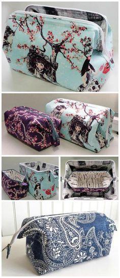 How to Sew a Zipper Bag