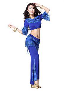 女性より多くの色のためのダンスウェアビスコースベリーダンスの衣装 – JPY ¥ 2,610