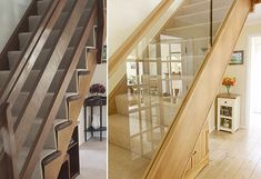 Read about our latest staircase renovation, changing a traditional cut string staircase to an oak and glass balustrade. An original staircase renovation. Loft Conversion Stairs, Glass Balustrade, Bannister, Breath Of Fresh Air, This Is Us, Traditional, The Originals, Stylish, Design