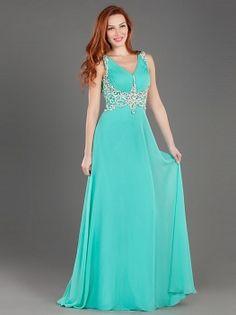 Φόρεμα μακρύ βραδινό με κέντημα - Βραδυνά Φορέματα