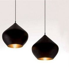 Modern Beat Stout Pendant Light – Tudo And Co Plug In Pendant Light, Large Pendant Lighting, Black Pendant Light, Contemporary Pendant Lights, Made Lighting, Black Pendants, Cabin Lighting, Contemporary Office, Pendant Lamps