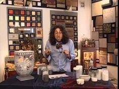 Декоративные страсти с Маратом Ка 2007 Серебрение антикварной рамы - YouTube
