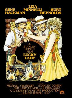 Lucky Lady (1975) - Art by Richard Amsel