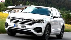 The VW Touareg is a quick, comfortable and refined luxury SUV that comes loaded with clever technology Volkswagen Models, Car Volkswagen, Sport Suv, Vw Touareg, Car Magazine, Luxury Suv, Bmw X5, Dream Cars, Super Cars