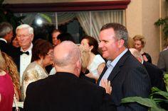 John Freeman, left, at the One World Gala Reception on March 28, 2012