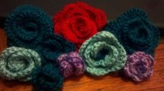 free #crochet #rose patterns