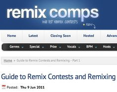 23 Best Music Composition - Remix Contests images in 2014