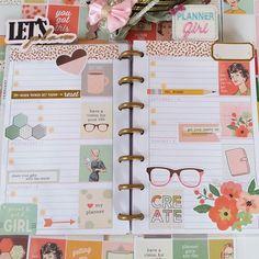 Mini Happy Planner Layout