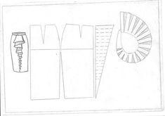 modelo con volantes falda larga falda de sastrería, corte y confección diseño - vma.