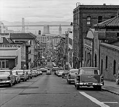 San Francisco, 1950s ~ My grandparents lived here and we vacationed every summer - it was like a 2nd home!