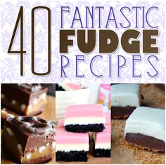 Fudge...Fudge...Fudge and MORE Fabulous Fudge Recipes are all yours today at The Cottage Market! There is a Fudge Flavor for everyone you know!!!! YUM!!!!!