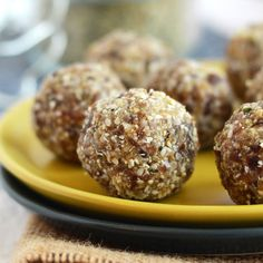 Cashew Hemp Seed Bliss Balls - Fit Foodie Finds