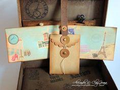 *ClayGuana: Vintage Suitcase