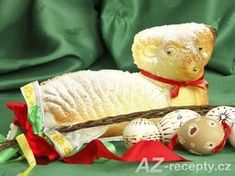 Easter with lamb. Easter - still-life with painted eggs and sweet lamb , Easter Lamb, Christ Is Risen, About Easter, Dream Home Design, Recipe Images, Handicraft, Oreo, Eggs, Teddy Bear