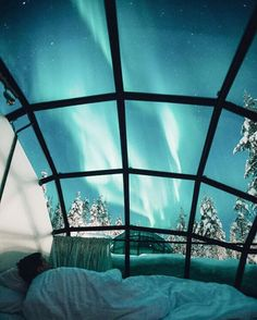 WINTER BUCKET LIST | Kakslauttanen Arctic Resort  Glass igloos with views of the northern lights,  hot springs,  glacier glamping  and even tropical escapes  that are cooler than a cucumber mask... This Roundup has it all! TAP LINK in profile.  : @valtterihirvonen
