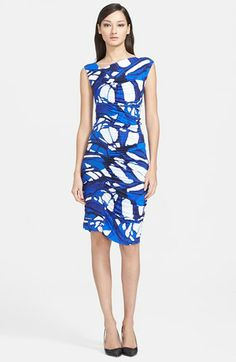 ESCADA Print Jersey Dress available at #Nordstrom love this print