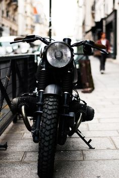 Motorcycle.