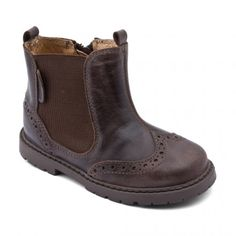Digby, Brown Leather Boys Zip-up Boots - Boots - Boys Shoes, Toddler Boy Style, Boys Fashion, Baby Boy Fashion