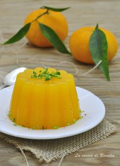 Mousse Dessert, Sicilian Recipes, Creme, Panna Cotta, Food And Drink, Pudding, Fruit, Cooking, Sweet