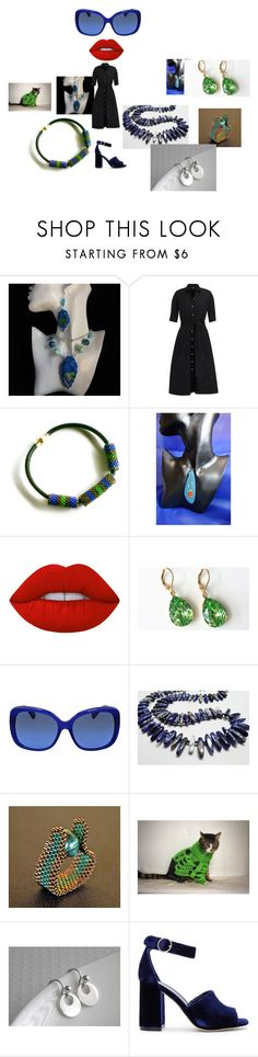 """""""Blue Monday"""" by mariellascode ❤ liked on Polyvore featuring Lime Crime, Coach, Joie and modern"""