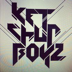 KETCHUPBOYZ (DJ LOGO) by Baz S. Thongpravati, via Behance