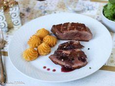 Magret de canard sauce pinot noir vin rouge