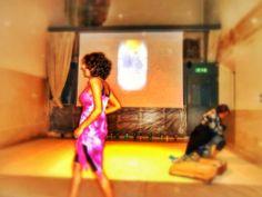 Performance Progetto Arte in Movimento organizzato da QuanticArt