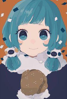 Source provided so show some love to the artist! Anime Girl Cute, Kawaii Anime Girl, Anime Art Girl, Manga Girl, I Love Anime, Anime Girls, Manga Anime, Character Art, Character Design