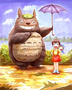 Totoro by AlineMendes on deviantART