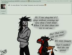 Poor Jeff! But I must say this is kinda stupid.. - Ask The Creepypastas - Jeff the killer, smile and mira