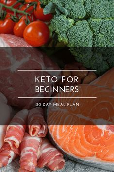 Easy Keto For Beginners Free 30 Day Meal Plan Looking for keto diet tips for beginners? Check out this easy free meal plan and shopping list for beginners! With 90 ketogenic diet recipes for breakfast lunch dinner and snack this is the perfect Low Carb Meal Plan, Diet Plan Menu, Keto Diet Plan, Diet Meal Plans, Free Keto Meal Plan, Atkins Diet, Ketosis Meal Plan, Basics Of Keto Diet, Easy Ketogenic Meal Plan