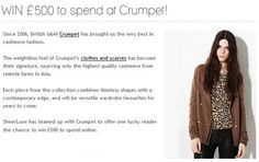 Win to spend at Crumpet Shopping Vouchers, High Street Brands, Crumpets, Fashion, Moda, Buns, Fashion Styles, Fashion Illustrations