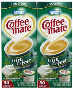 Coffee-mate Liquid Creamer Singles - Irish Creme - 50 ct - 2 pk ** Read more at the image link. Nestle Chocolate, Non Dairy Creamer, Snack Recipes, Snacks, Juices, Coffee Shop, Irish, Beverages, Image Link