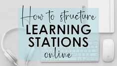 How to Structure Learning Stations Online - Write on With Miss G Online Classroom, Classroom Tools, History Classroom, Flipped Classroom, School Classroom, Classroom Ideas, Teaching Social Studies, Teaching Tips, Creative Teaching