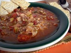 Easy Stuffed Cabbage Soup
