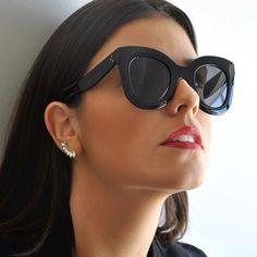 Cheap Aofly moda occhiali da sole donne marchio di lusso del progettista vintage occhiali da sole rivetto femminile cat eye glasses per le donne gafas oculos, Compro Qualità Occhiali da sole direttamente da fornitori della Cina: Aofly moda occhiali da sole donne marchio di lusso del progettista vintage occhiali da sole rivetto femminile cat eye glasses per le donne gafas oculos