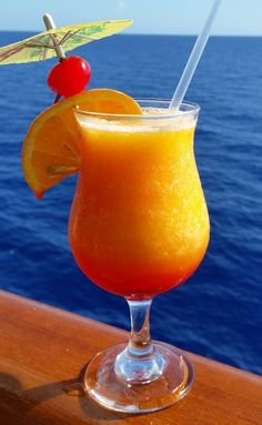 Copy Cat Carnival Kiss on the Lips Cocktail, in memory of my friend Krystal Simpson.  She came back after her cruise and this drink was all she could talk about!