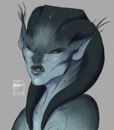 yae by MeowSaysI Fantasy Character Design, Character Concept, Character Art, Aliens, Alien Design, Alien Concept Art, Alien Races, Space Pirate, Fantasy Races