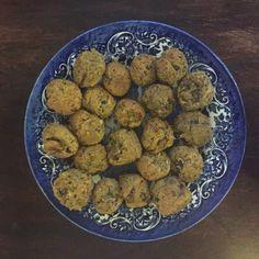 Chickpea & Mushroom Bites.